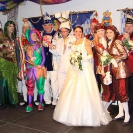 Fastnacht - Besuch des Prinzenpaares im Vereinsheim